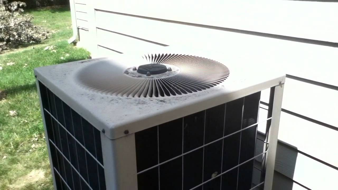 1994 Armstrong Air Concept 10 Air Conditioner Running
