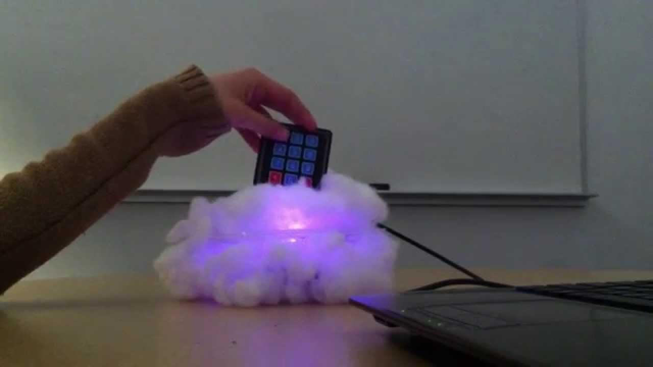 Night light using arduino - Unedited Cloud Nightlight Prototype No Audio