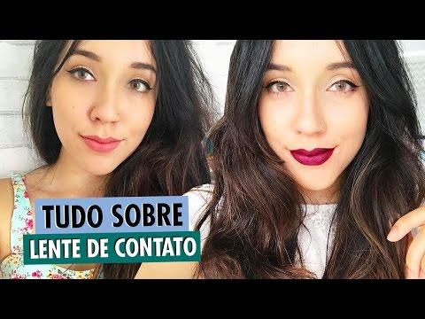 bd22ec721 Lente de contato colorida - onde comprar, cores e marcas - YouTube