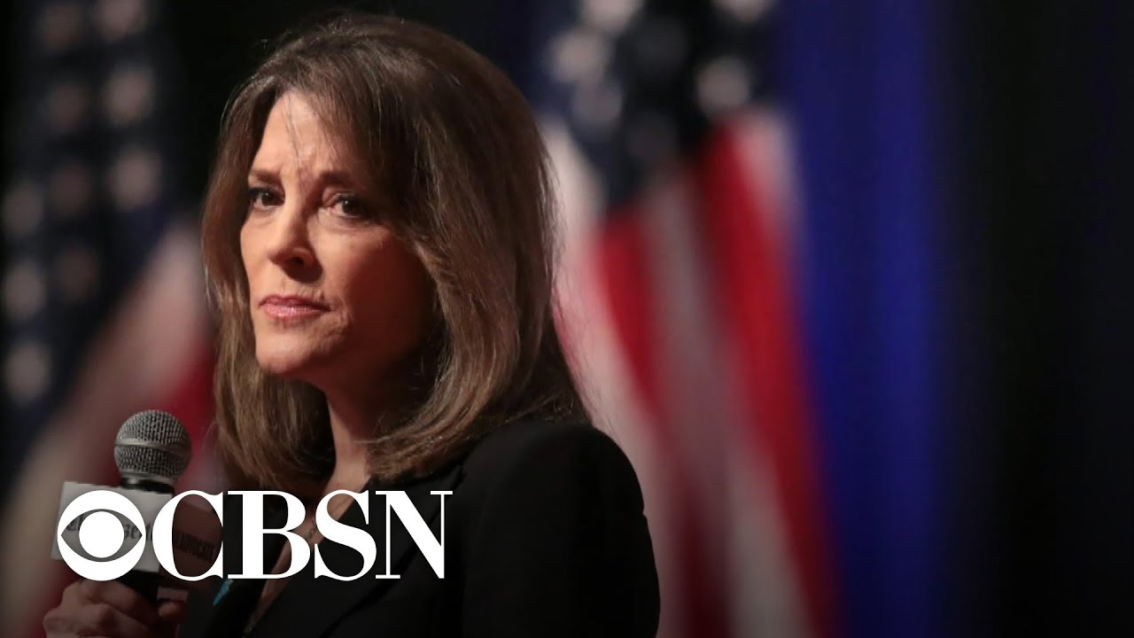 Marianne Williamson drops out of presidential race