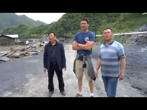 Hubei Black Chinese Slate Quarry