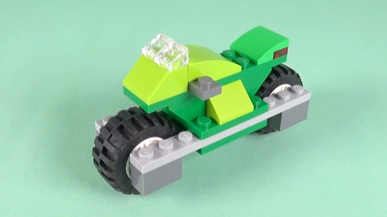 LEGO Racing Motorcycle Building Instructions - LEGO Classic 10715