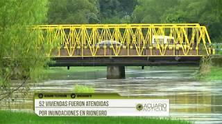 52 viviendas fueron atendidas por inundaciones en Rionegro