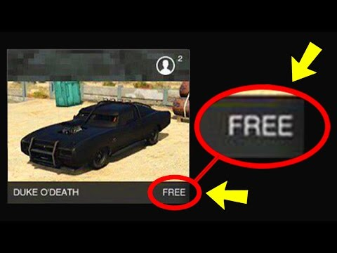 Save HOW TO GET THE DUKE O'DEATH FOR FREE IN GTA 5 ONLINE! Pictures