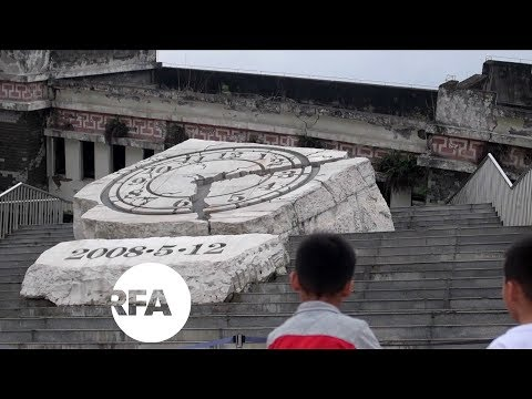 China Quake Survivors Relive Trauma for Tourists in City Ruins | Radio Free Asia (RFA)