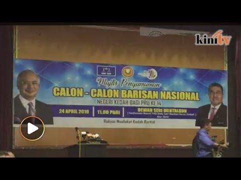 Live Bn Kedah Umum Calon Pru14 Youtube