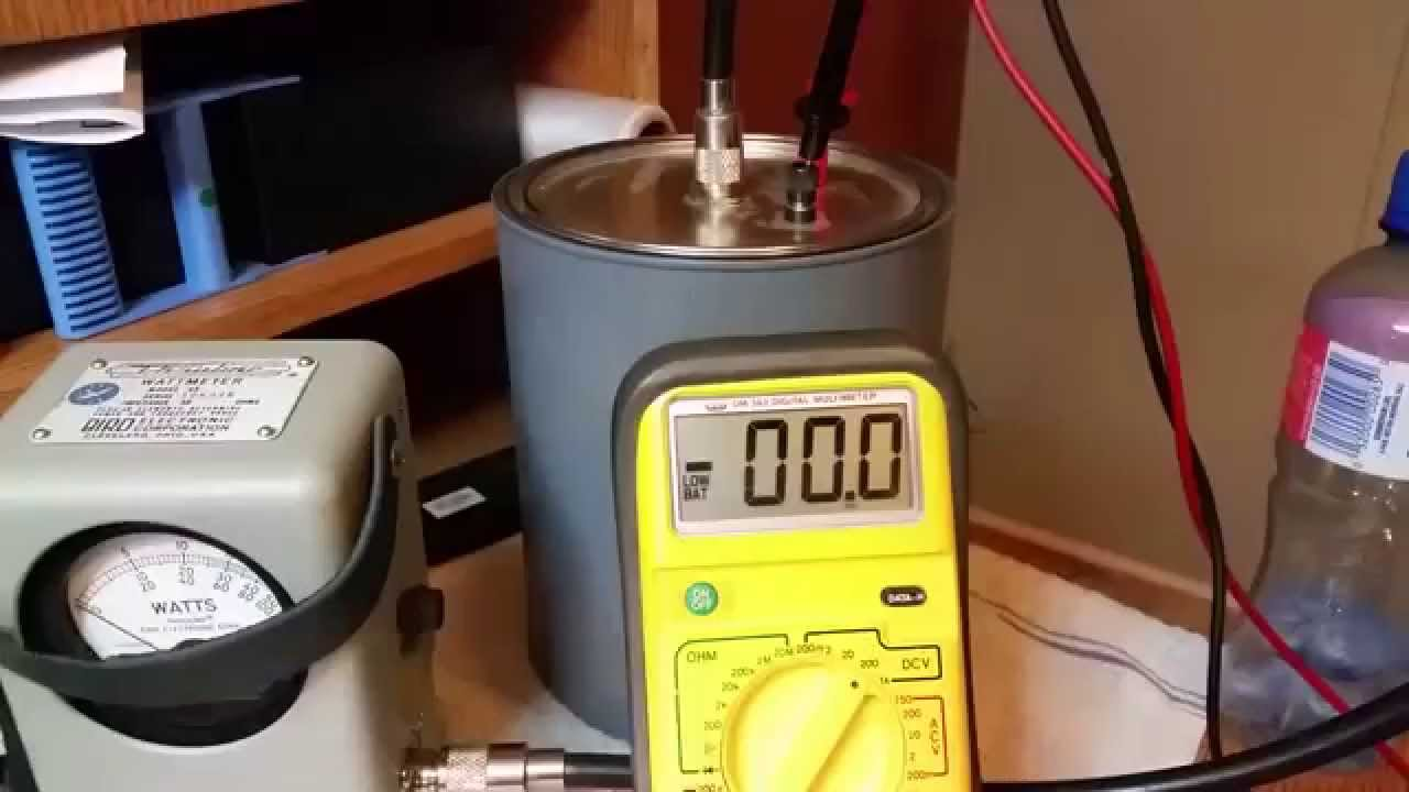 Dummy Load Reading PWR Output More Accurate Then Bird Meter