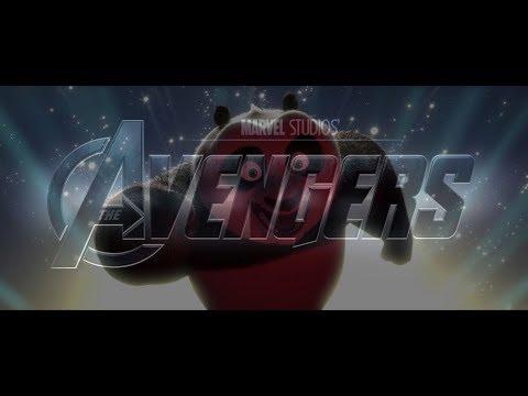 AVENGERS' THEME In Kung Fu Panda! #Avengers #Endgame #Portals