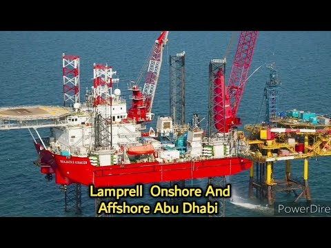 Lamprell onshore and offshore u a e best company