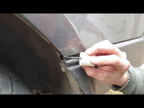 Локальный ремонт кузова кисточкой , запечатыватель ржавчинны от Mipa