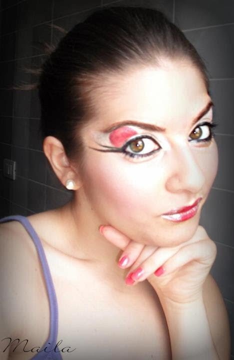 Super Trucco giapponese Maiko Japanese Make up - YouTube HJ29