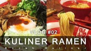 KULINER RAMEN Vlog 02 Bocah Kuliner