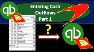 QuickBooks Online 2019-Entering Cash Outflows Part 1