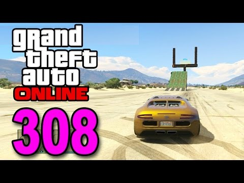Grand Theft Auto 5 Multiplayer - Part 308 - FIELD GOAL JUMP! (GTA Online Gameplay)