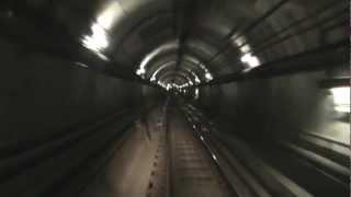 train drivers view melbourne underground