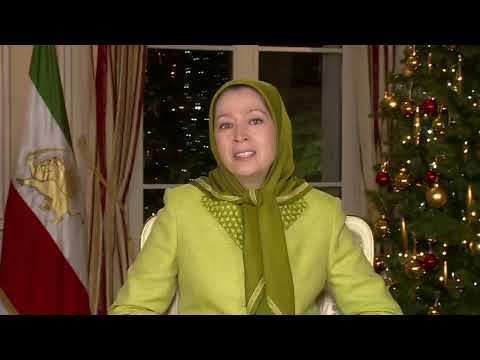 Maryam Rajavi's New Year  and Christmas greetings December 2015