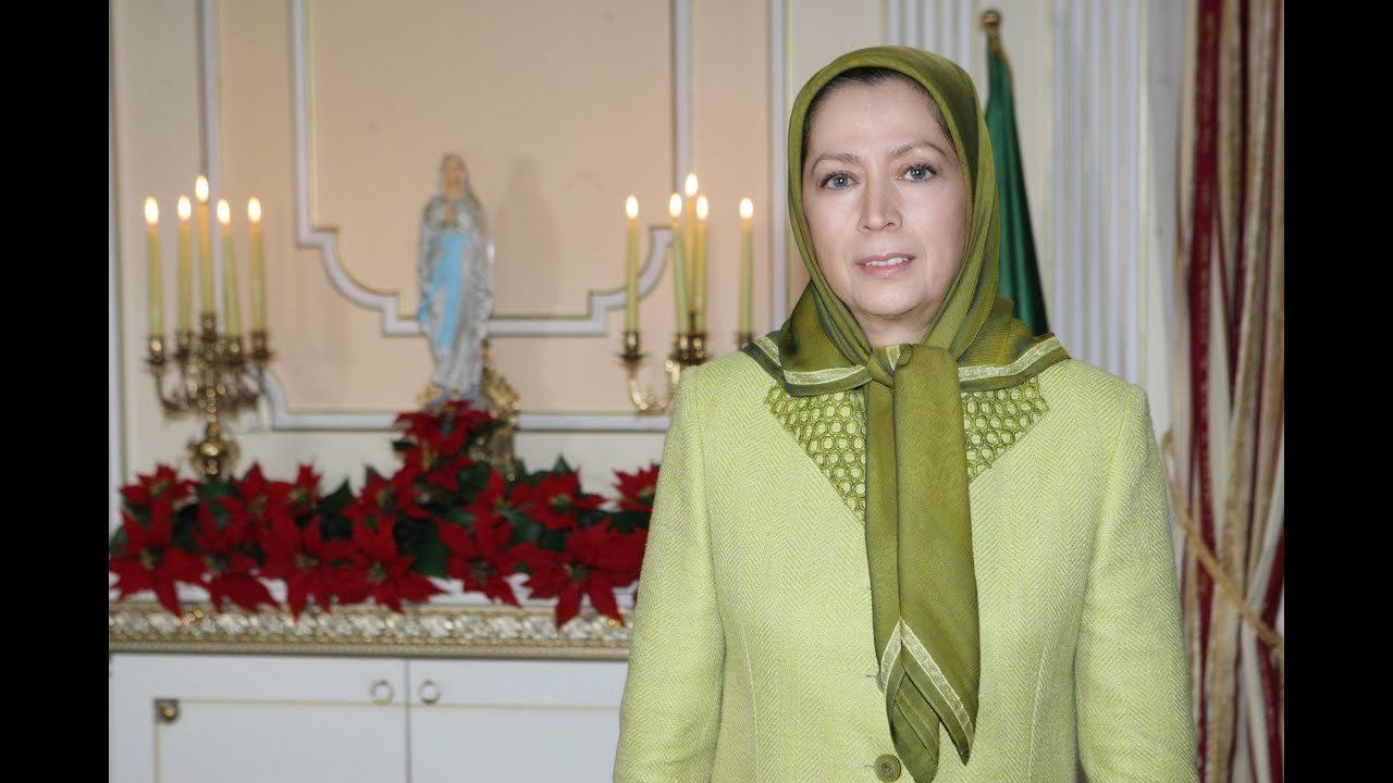 Maryam Rajavi's New Year  and Christmas greetings December 2015