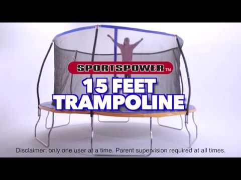 15 FT Amazon Exclusive Trampoline by Sportspower