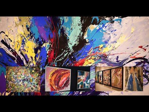 """Living 4 ART : """"Le rêve en couleurs """", une exposition collective à Casablanca"""