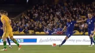 IOANNIS MANIATIS AMAZING GOAL | AUSTRALIA Vs GREECE | 0-2