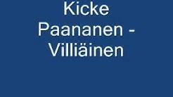 Kicke Paananen - Villiäinen