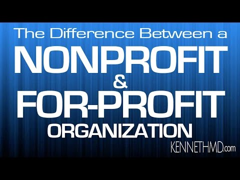 nonprofit versus for profit healthcare and organizations essay A key factor that should be considered is whether to choose a for-profit corporate facility or a non-profit  in for-profit and not-for-profit nursing homes.