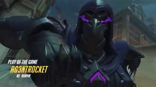 Overwatch Play of the Game: Reaper Ultimate Team Kill