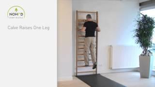 NOHrD Wallbars - Calve Raises One Leg (en)