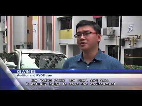 Carpooling with RYDE. Featured on Channel 5 News