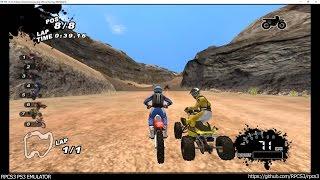 RPCS3 PS3 Emulator - SCORE International Baja 1000 Ingame! VULKAN (e33c011) LLVM