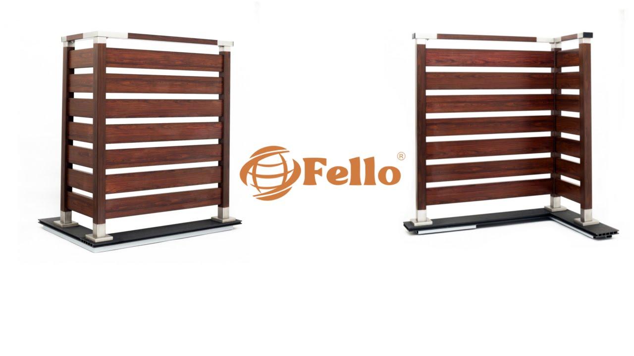 Inteligentny Nowoczesna balustrada Fello - instrukcja montażu - YouTube KL54