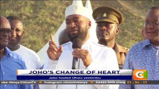 Joho now ready to work with President Uhuru Kenyatta