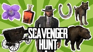 Red Dead Redemption Scavenger Hunt - Challenge Oxbox
