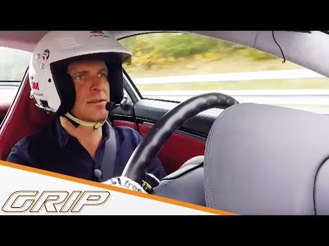 400-km/h-Rekordversuch im Mercedes SLR McLaren | GRIP