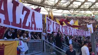 CURVA SUD ROMA.   DERBY ROMA LAZIO  #FORZA Roma #calcio