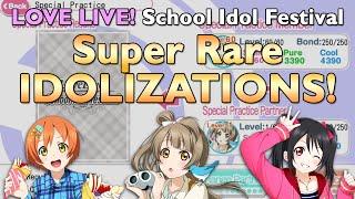 Love Live! SIF - SR Idolizations! (Nico, Rin, Kotori)