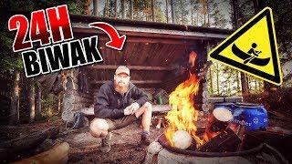 24H Biwak in Schweden mit Kanu und neuer Ausrüstung - Overnighter Übernachtung