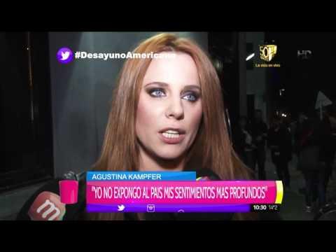 Agustina Kampfer habló de la nueva novia de Jorge Rial