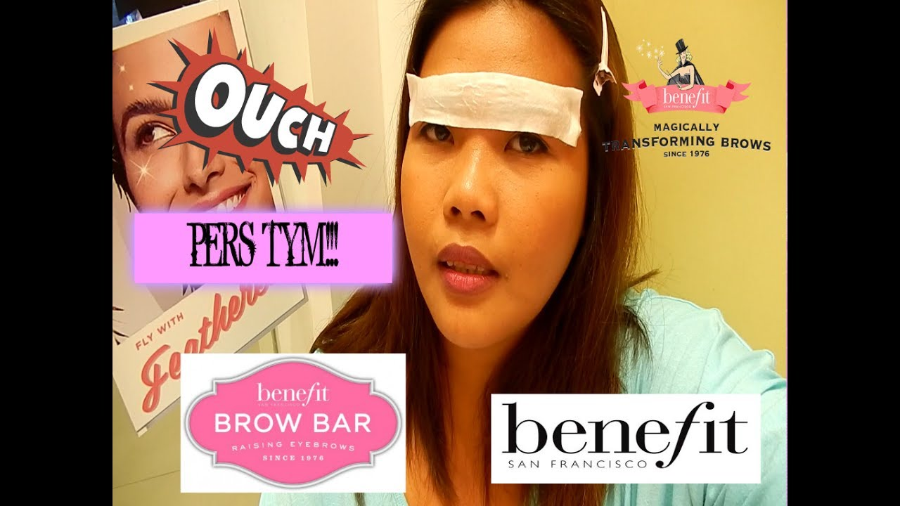 Benefit Brow Waxing Experience Cebu Jozamdiariesvlog Youtube