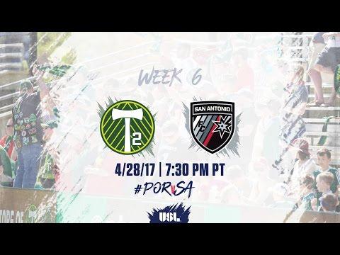 USL LIVE - Portland Timbers 2 vs San Antonio FC 4/28/17