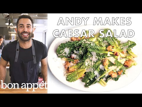 Bon Appetit Test Kitchen how to make the very best caesar salad | from the test kitchen