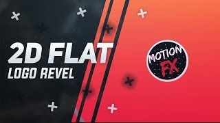 *Free* 2D Flat Logo Reveal (Ae Template) Motion Fx
