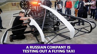 2021 Tech: A Russian company is now testing flying taxis with plans for mass production in 2021