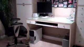 Hide Your Computer Desk Wiring