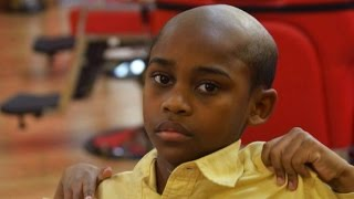 Barber gives misbehaving kids unwanted haircuts