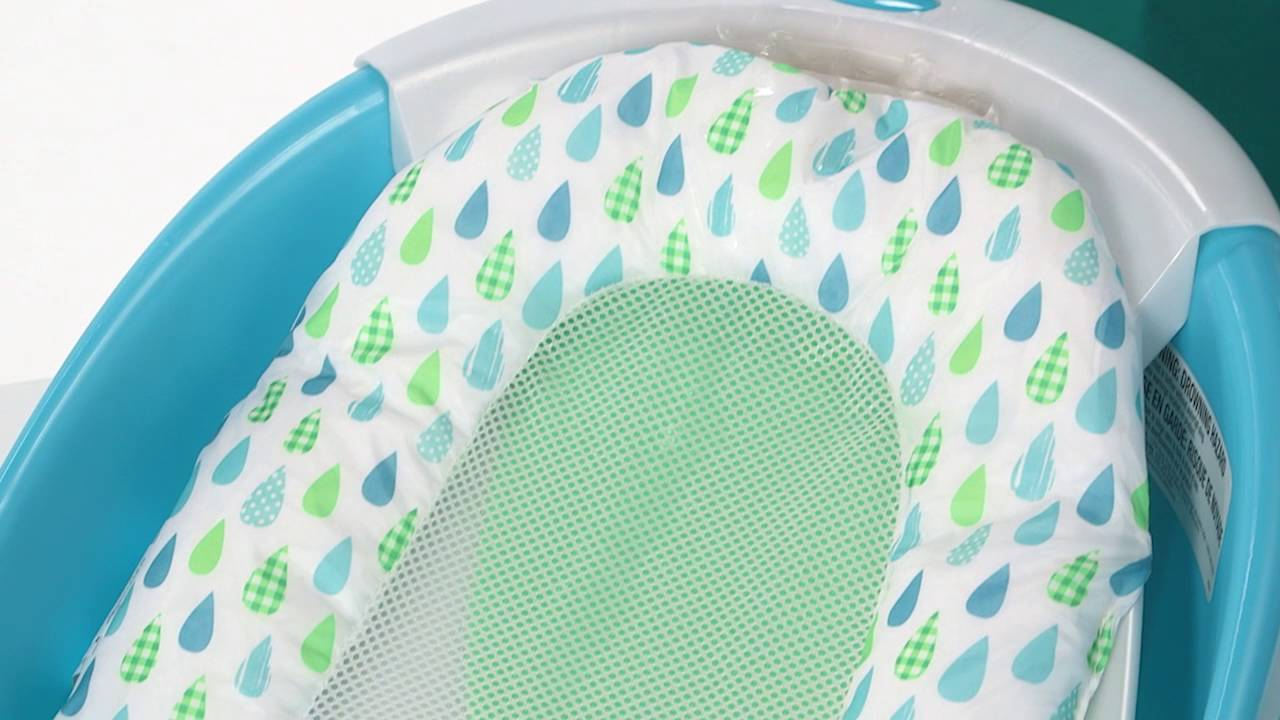 Summer Infant Waterfall Baby Bather Product Video - YouTube