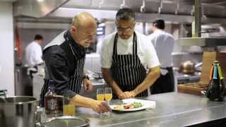 Atul Kochhar and Max Warner at Benares - Kadhai Chicken and The Alchemist