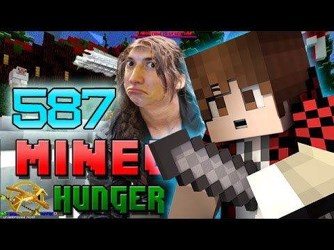 Minecraft: Hunger Games w/Mitch! Game 587 - BEST KILL STREAK EVER!