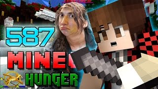 Minecraft: Hunger Games w/Mitch! Game 587 - BEST KILL STREAK EVER!