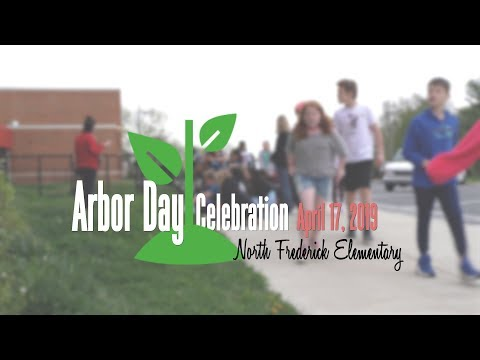 Arbor Day 2019 at North Frederick Elementary School